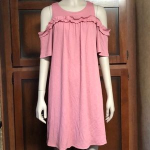 NWOT Lauren Conrad cold shoulder dress